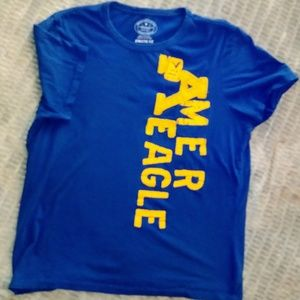 mens AE blue logo T athletic fit XL 3/10$